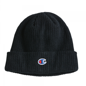 Black Champion Winter Beanier Toque Authentic