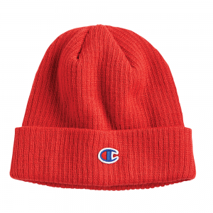 Red Champion Winter Beanier Toque Authentic